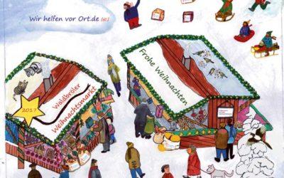 Für kleine Weihnachtsmarktbesucher