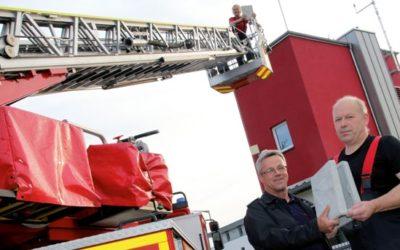 Fliegende Untermieter bei der Feuerwehr