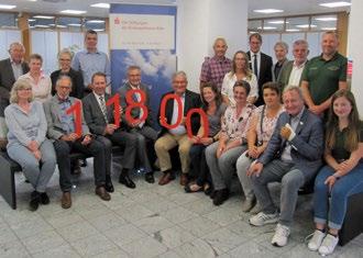 KSK Sportstiftung vergibt 11.800 Euro an Vereine
