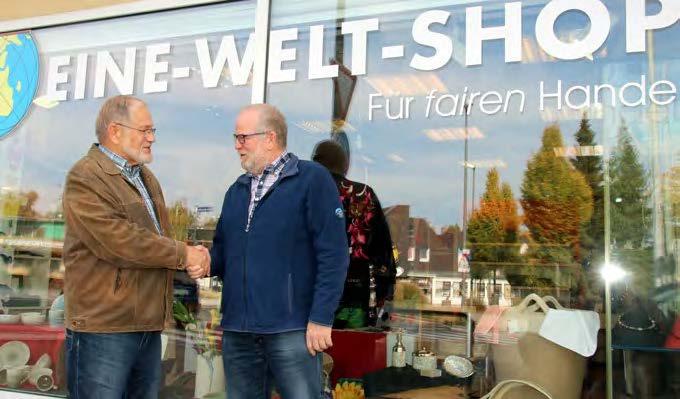 Stabwechsel im Eine-Welt-Shop