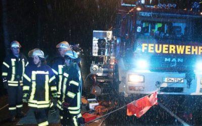 Einsätze der Freiwilligen Feuerwehr Waldbröl im Januar und Februar 2019