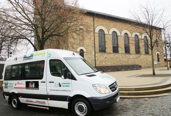 Mit dem Bürgerbus zur Kirche Bürgerbusverein Waldbröl ermöglicht ab März Fahrten zu Gottesdienstbesuchen