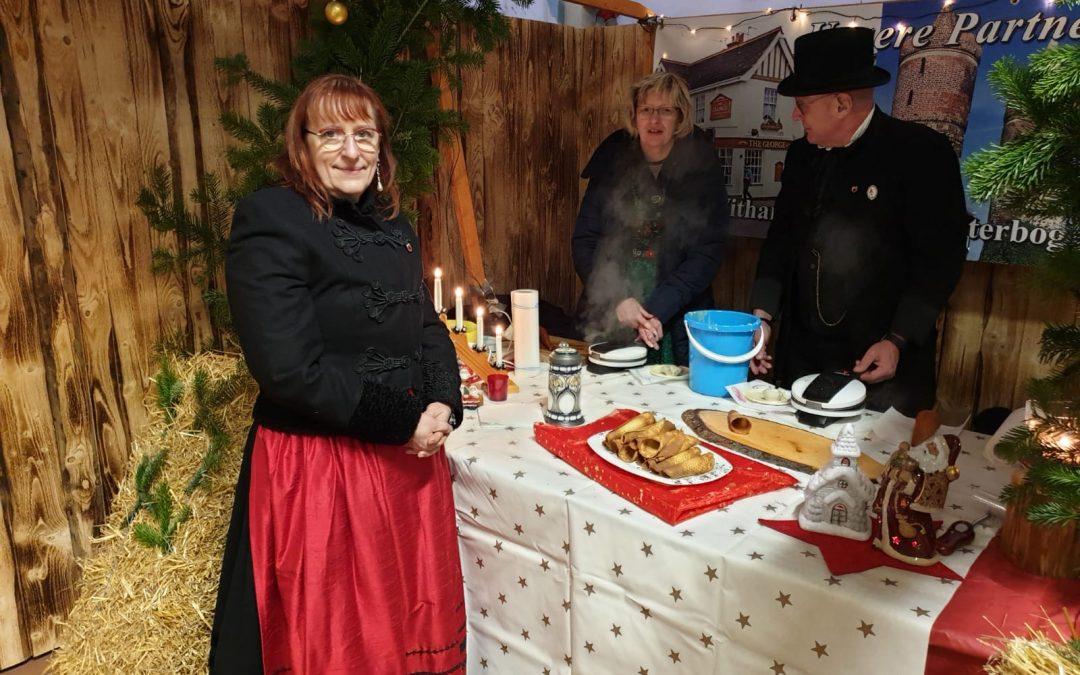 Besuch aus der Partnerstadt Jüterbog zum Weihnachtsmarkt bei den Freunden in Waldbröl