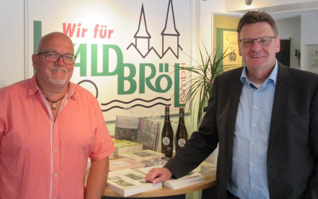 Geschäftsführerwechsel in der Wir für Waldbröl GmbH