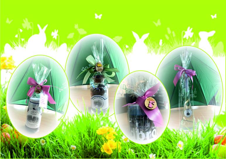 Kleine Präsente zu Ostern im Wir für Waldbröl Büro