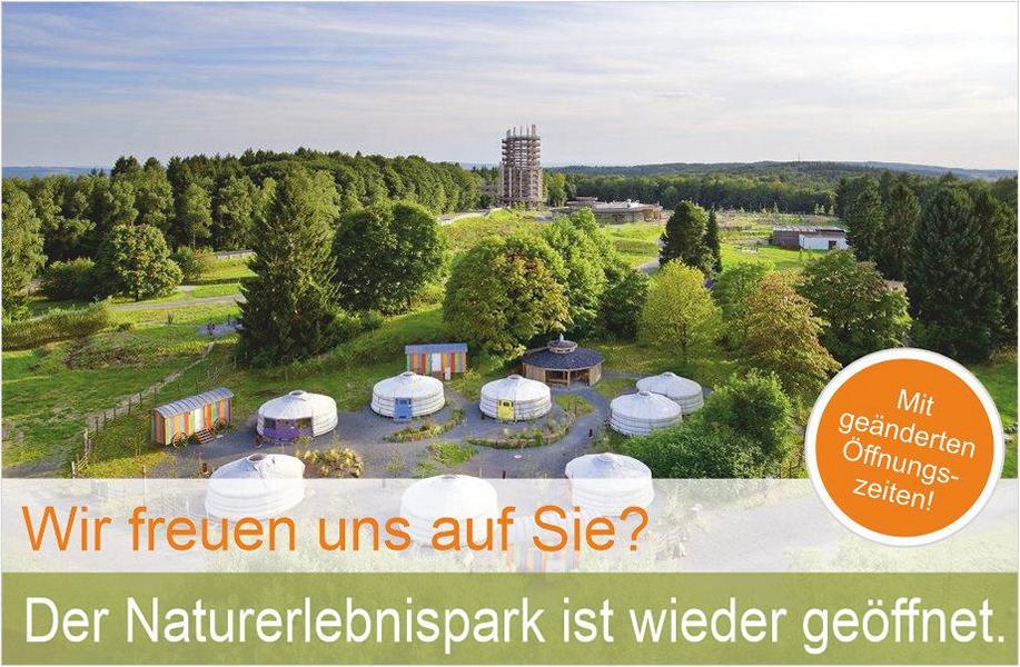 Der Naturerlebnispark Panarbora ist ab 16.04.2021 wieder geöffnet