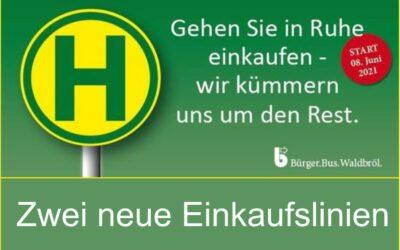 Bürgerbus Waldbröl – Neue Einkaufslinien