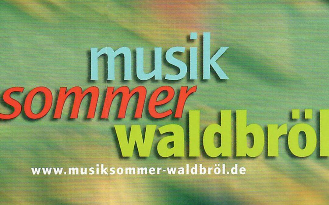 Musik-Sommer-Waldbröl zweites Halbjahr 2021