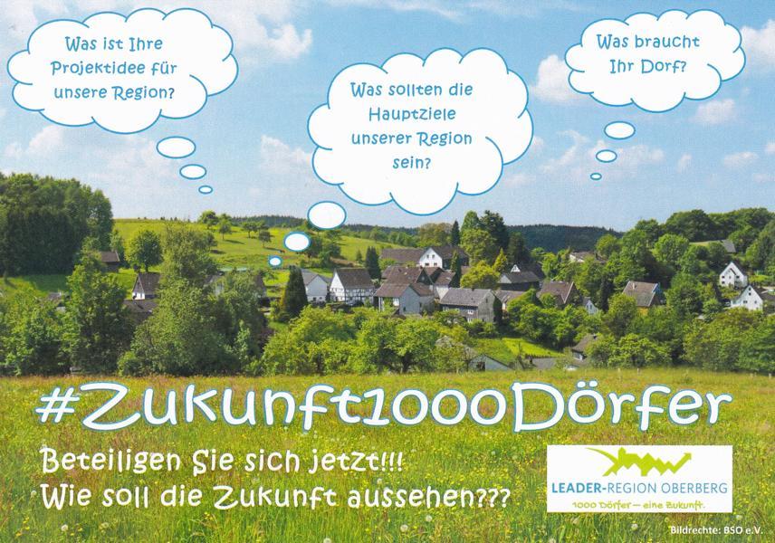 LEADER-Region Oberberg 1000 Dörfer – eine Zukunft